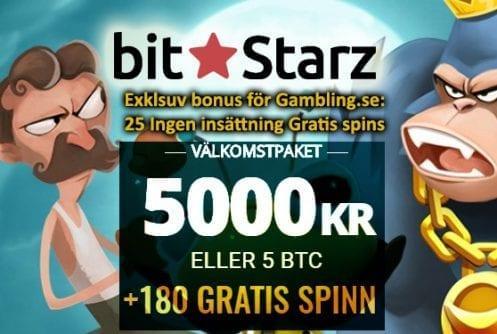BitStarz Casino Welcome Pack