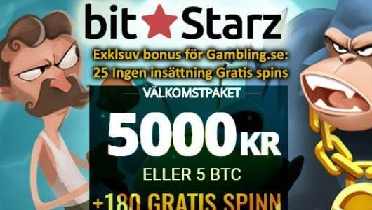 BitStarz Casino Welcome Pack
