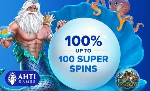 AHTI Games 100 Super Spins