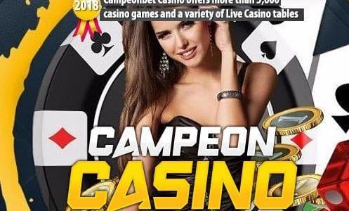 CampeonBet Casino Offers