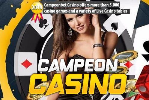 CampeonBet Casino Offers