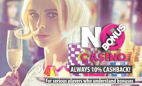 No Bonus Casino Cashback