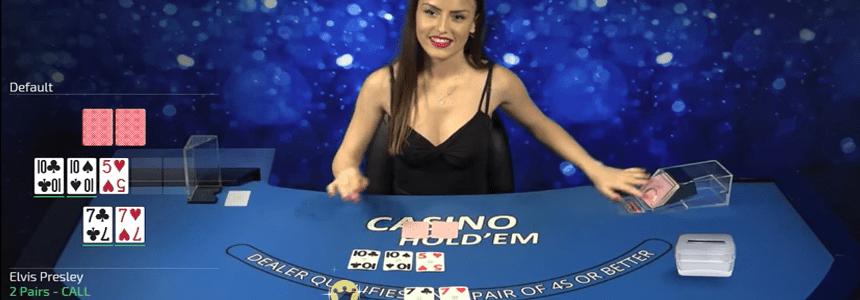 Holdem Live Dealer Table
