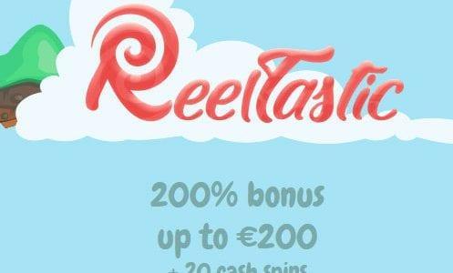 Reeltastic Casino 200% Bonus