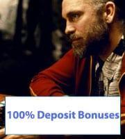 100% Casino Bonuses