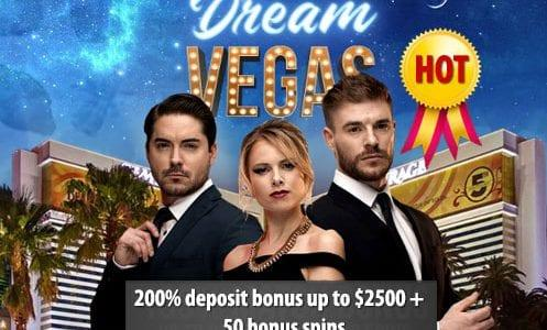 Dream Vegas Casino Hot Offer