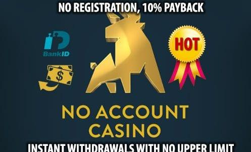 No account Casino Hot Offer