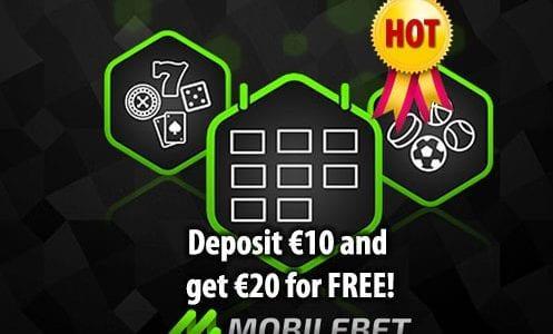 Mobilebet Casino Promo