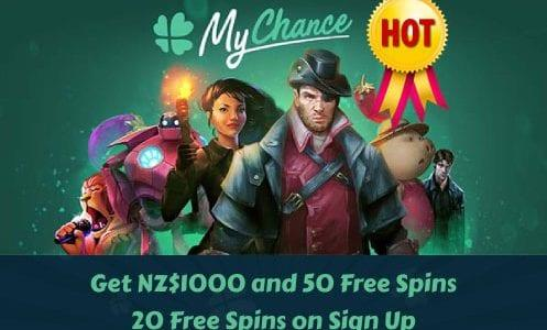 MyChance Casino Hot Offer