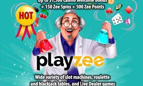 Playzee Casino Welcome Bonus