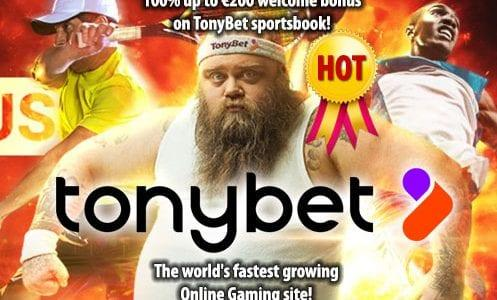TonyBet Casino Welcome Bonus