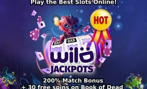Wild Jackpots Casino Match Bonus