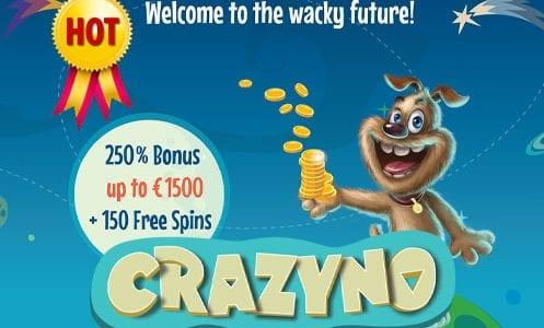 Crazyno Casino Welcome Bonus