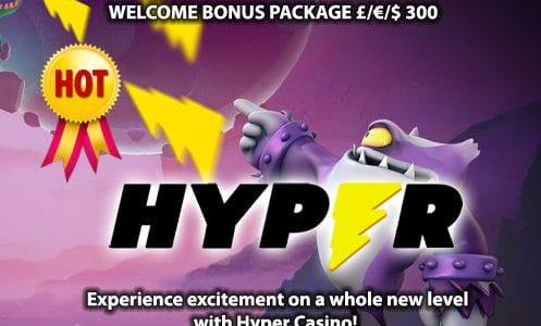 Hyper Casino Welcome Bonus