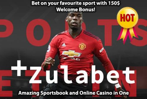 Zulabet Casino Welcome Bonus