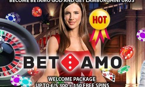 Betamo Casino Welcome Package