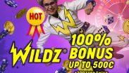 Wildz Casino Hot Bonus