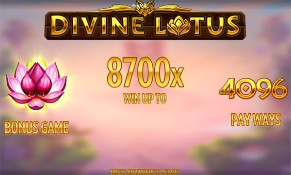 The Divine Lotus Slot by Thunderkick