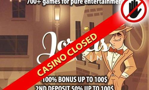 Joreels Casino Closed
