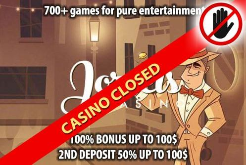 Joreels Casino Closed