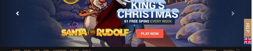 King Billy Casino 61 Free Spins