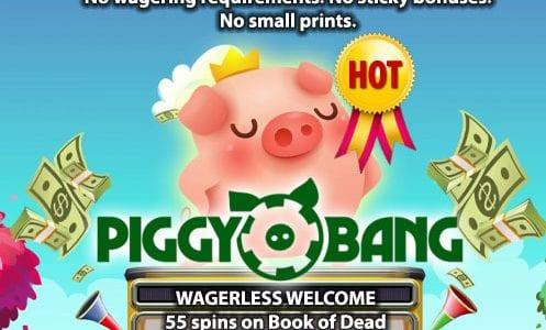 Piggy Bang Casino Hot Offer
