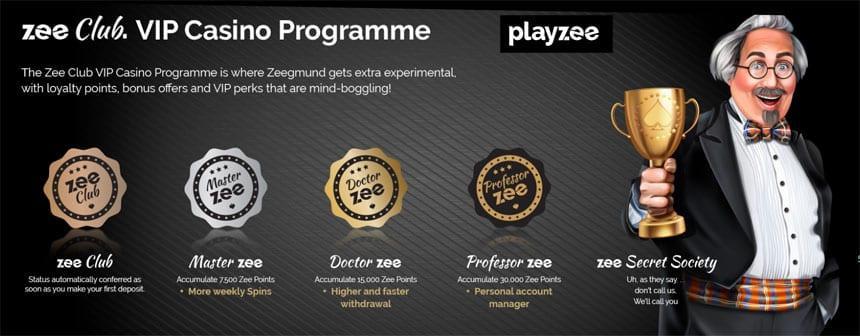 playzee vip program