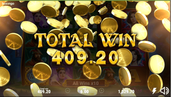 An example of a big win while playing Poisoned Apple 2 slot