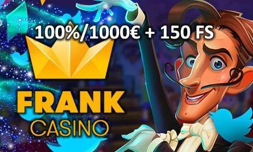 Frank Casino Bonus