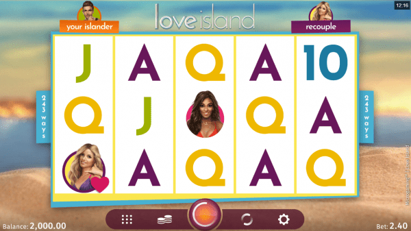 A Top Valentines Day slot - Love Island by Microgaming