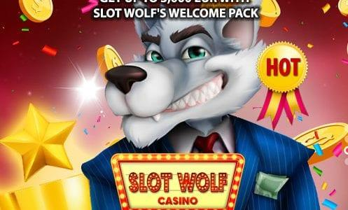 Slot Wolf Casino Welcome Pack