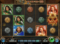 The Sword and the Grail Slot by Play'n GO