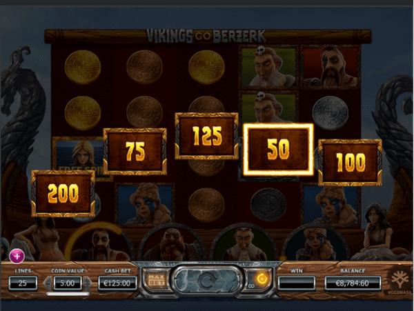 Treasure chests in Vikings go Berzerk