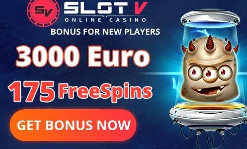 Slot V Casino Welcome Pack