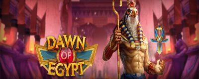 Play'n GO Continues Ambitious Release Year With Dawn Of Egypt