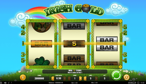 Irish Gold Slot by Play'N Go