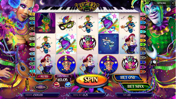 Enjoy the Mardi Gras Slot by MultiSLOT