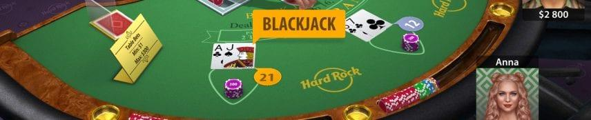 Hard Rock Casino Blackjack screenshot