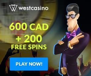 Register NOW to benefit from great West's bonuses and promotions!