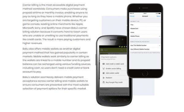 Boku Mobile Payments
