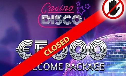 Casino Disco Closed