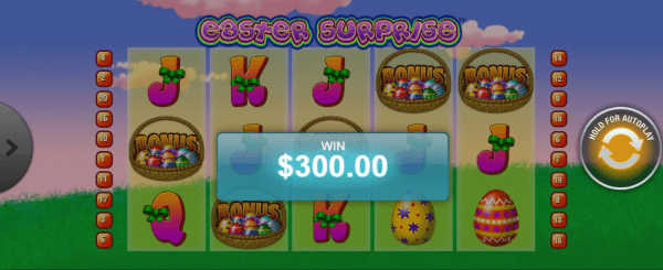 Playtech slot Easter Surprise