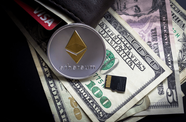 An example of an Ethereum wallet