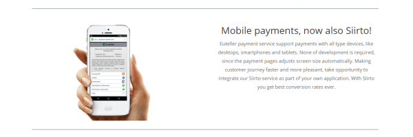 Mobile Payments with Euteller