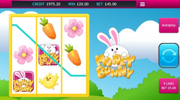 Eyecon presents the Money Bunny slot