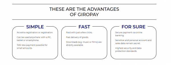 Giropay advantages