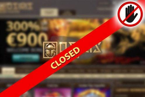 Osiris Casino Closed