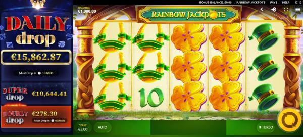 Rainbow Jackpot is a great Daily Jackpot Slot