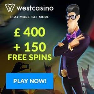 WestCasino Welcome Bonus