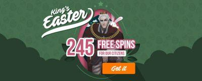 Hello Easter Slot 245 Free Spins